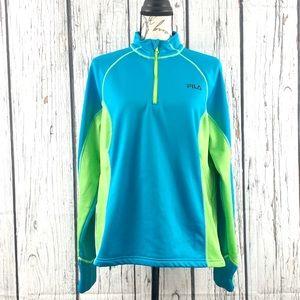 Fila Sport Half Zip Pullover Jacket